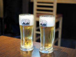 おいしいビールで乾杯!
